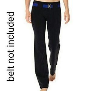 Lululemon pants - belt it out
